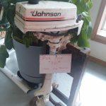 1983 JOHNSON 2 HP